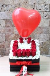 Aşkınızı sevdiğinizin baş harfi ve özel balon süslemesiyle anlatmaya ne dersiniz? Cevabınız evet ise biz her gün hizmetinizdeyiz.