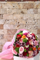 Papatyalar, güller ve egzotik yeşillikler aşkınızı sımsıcak bir dille anlatacak, sevdiğinize seni seviyorum cümlesini en güzel şekilde hissettirecek.